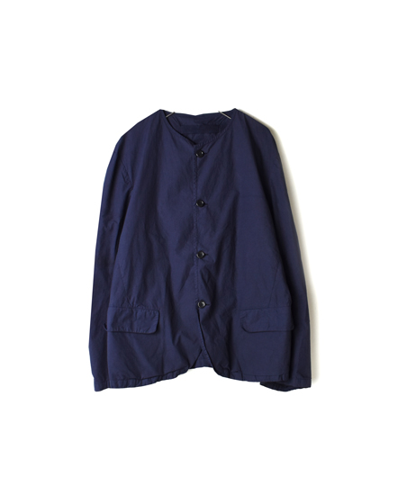 NVL1751D ORGANIC POPLIN NO COLLAR JACKET