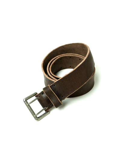 NBC1712NS 40㎜ OLD NICKEL DOUBLE PIN BUCKLE BELT