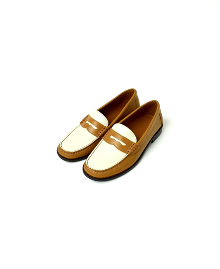 NSP1401 (#1500) 2TONE COLOR COIN LOAFER