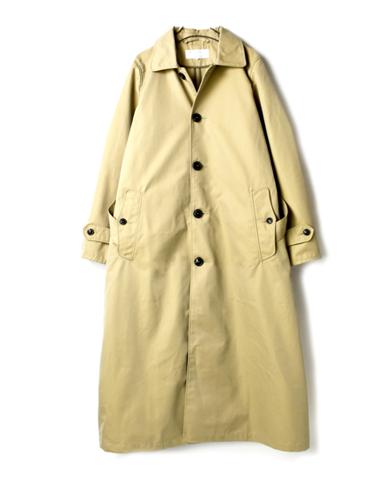 NMPA1851 SINGLE BREASTED TRENCH COAT (FULL SLEEVE)