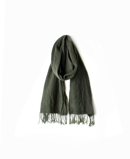 NNHT1751 OVER DYED WOOL STOLE 45×170cm