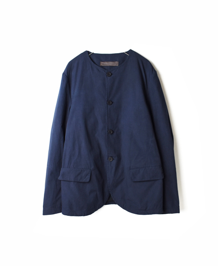 NVL1751 ORGANIC POPLIN NO COLLAR JACKET